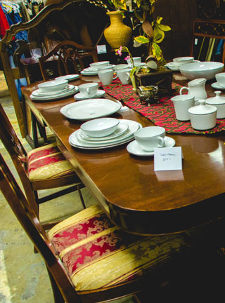 EARC Thrift Store | Furniture, Plates and Drinking Glasses